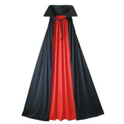 """SeasonsTrading 54"""" Fully Lined Deluxe Vampire Cape Costume Accessory"""