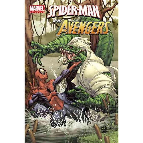 Marvel Universe Spider-man and the Avengers: Spider-Man and the Avengers