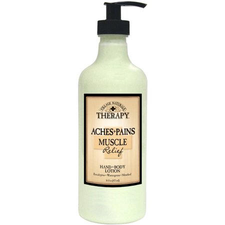 Village Naturals Therapy For Aches   Pains Muscle Relief Lotion  16 0 Fl Oz