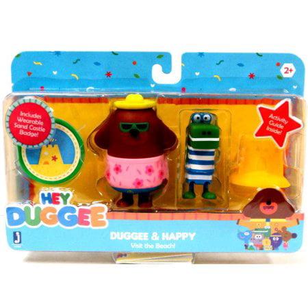 Hey Duggee Duggee & Happy Figure Set - Hey Arnold Toys