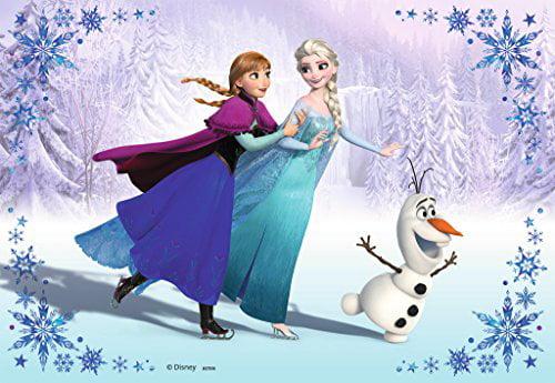 Frozen Disney Elsa Ice Castle Anna Princess Olaf Edible Image Photo