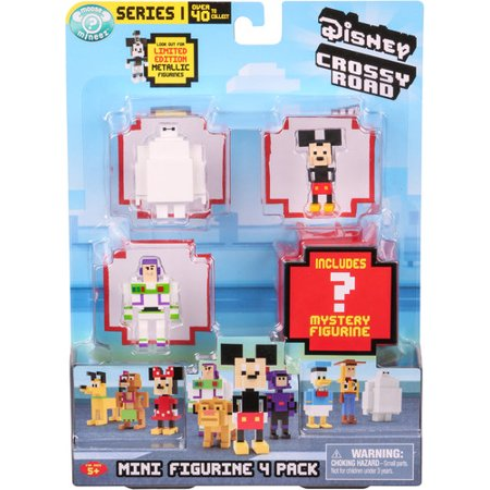 Disney Crossy Roads Mini Figure 4 - Crossy Road Characters Halloween