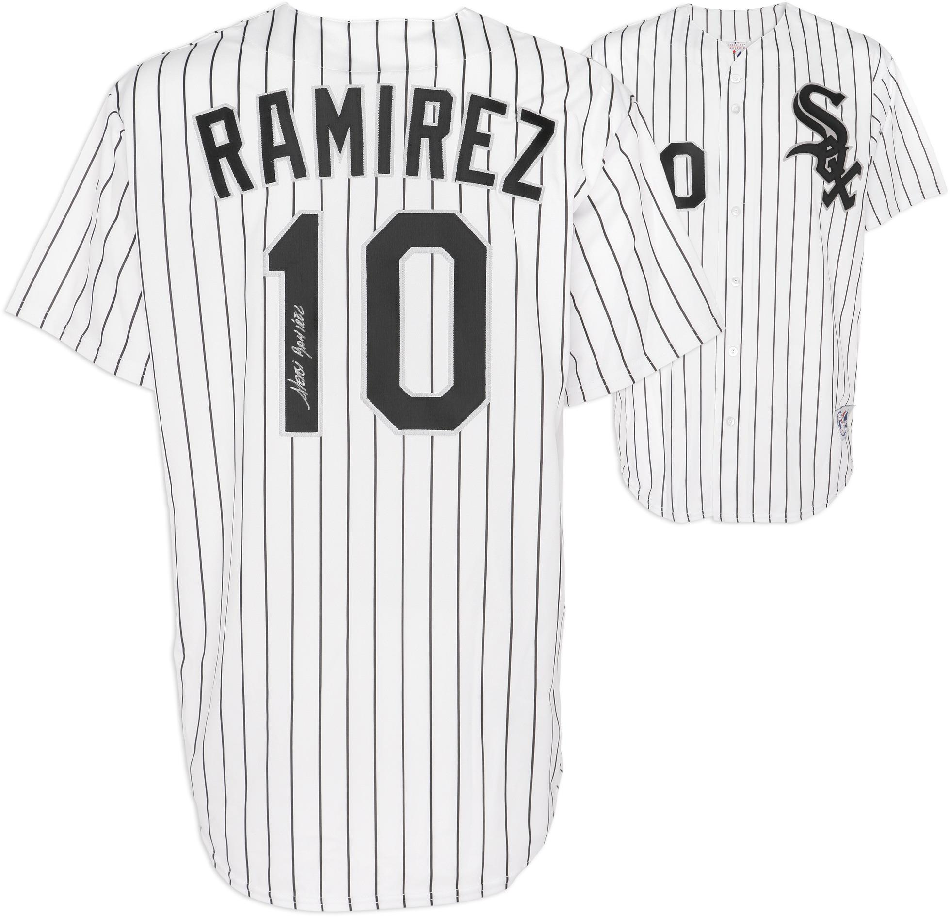 Alexei Ramirez Chicago White Sox Autographed Pinstripe Replica Jersey - Fanatics Authentic Certified