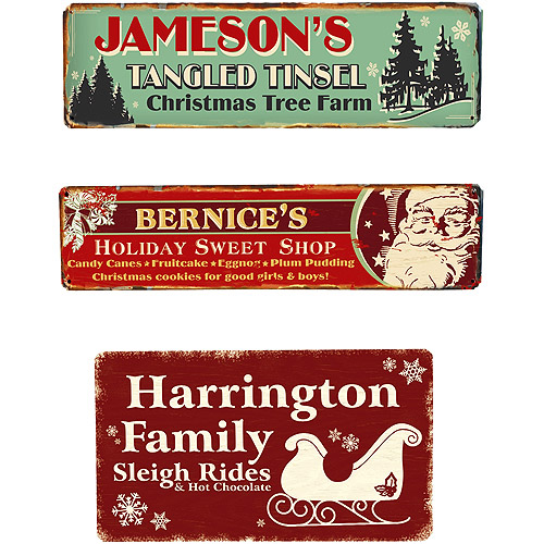 Sweets Shop Metal Sign - 5x20