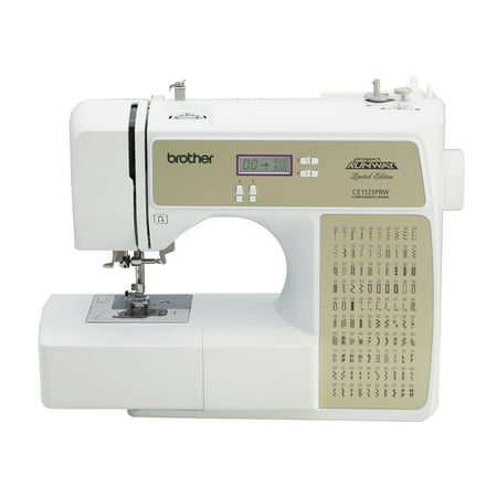 Brother CE40PRW Computerized 40Stitch Project Runway Sewing Interesting Brother Project Runway Sewing Machine Ce1100prw