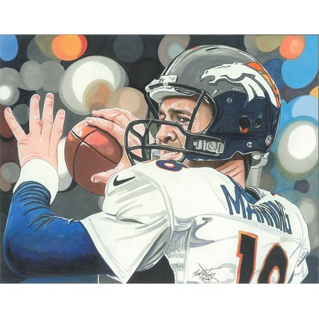 Deacon Jones Foundation NP-03R Mile High Art Print, by Neal Portnoy - Rolled