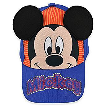 25b5b62fc2e Baseball Cap - Disney - Mickey Mouse Blue 3D Ears Youth Kids Size Hat 275812
