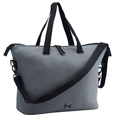 4ff124f0f593 ... under armour women s ua on the run tote one size steel steel black