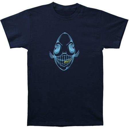Phish Men's  Bone Phish T-shirt Blue