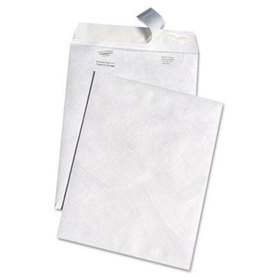 Survivor White Leather Envelopes of DuPont Tyvek