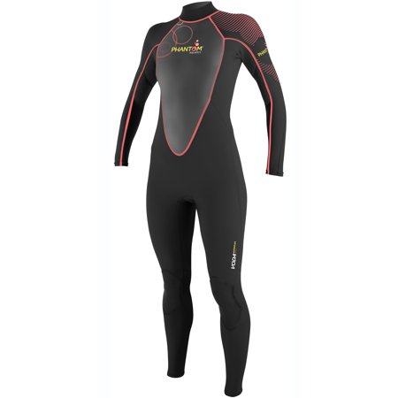 Phantom Aquatics Wetsuit Women's Voda Premium Stretch Full Suit