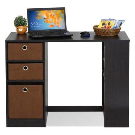 Furinno 15110 Jaya Modern Computer Study Desk Espresso