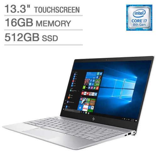 hp envy 13t touchscreen laptop intel core i7 2gb