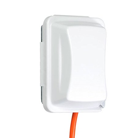 Taymac MM410W Weatherproof Single Outlet Cover Outdoor Receptacle Protector