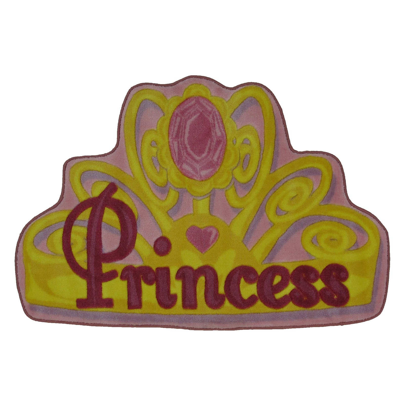"Fun Rugs Pretty Princess 31"" x 47"" Rug"