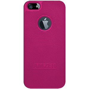 Premium Snap On Hard Shell Case for iPhone SE, iPhone 5S, iPhone 5 - Hot Pink
