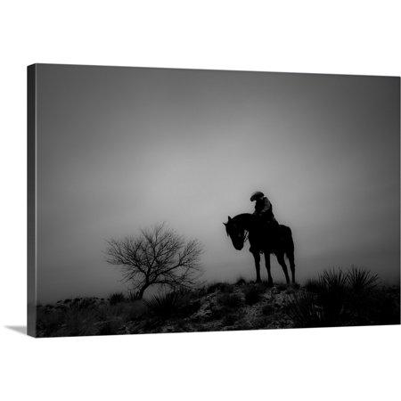 Great Big Canvas Dan Ballard Premium Thick Wrap Canvas Entitled Silence