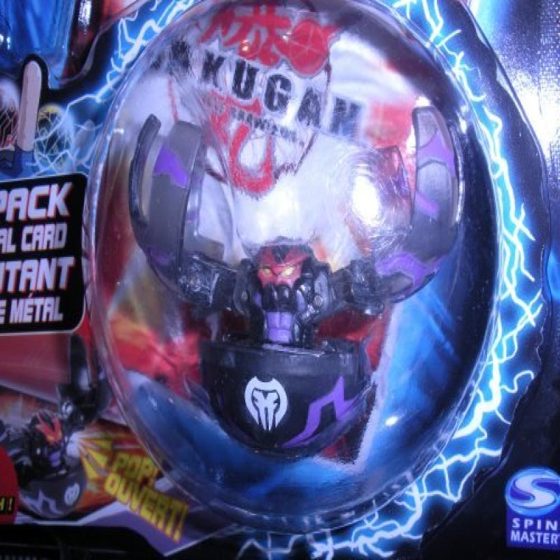 Bakugan Battle Brawlers Translucent Darkus Black Fear Rip...