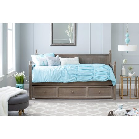 Full Size Daybed - Belham Living Casey Daybed - Washed Gray