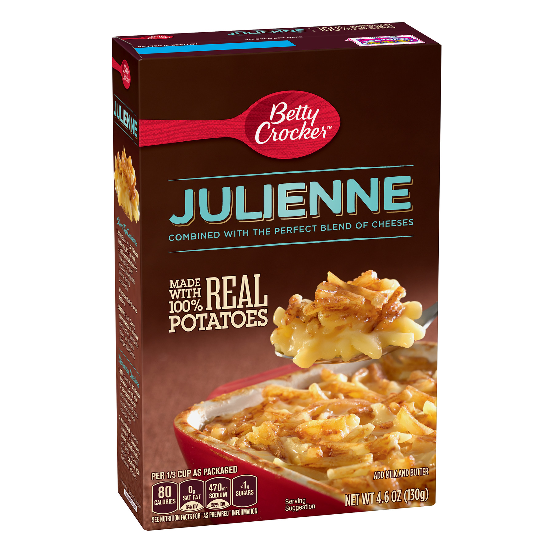 Betty Crocker Julienne Potatoes, 4.6 oz Box