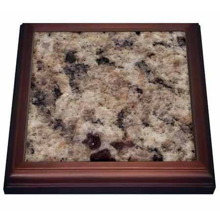 3dRose Napoli Venetian Gold granite print, Trivet with Ceramic Tile, 8 by 8-inch