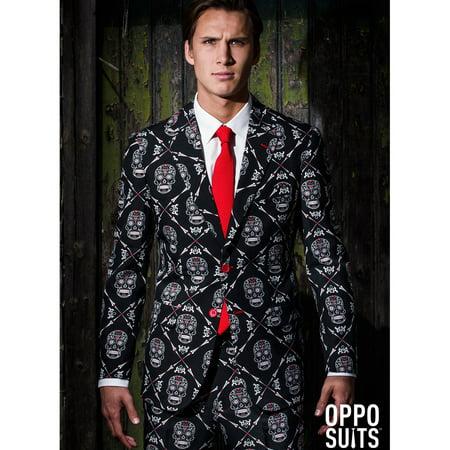 Haunting Hombre Men's Opposuit (Disfraces Halloween Hombre Vampiro)
