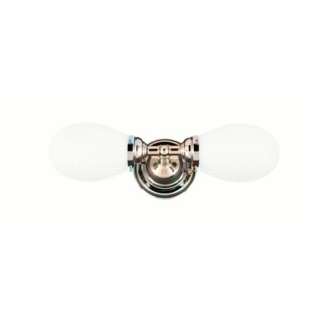 Hudson Valley Edison Collection 2 Light Bath Bracket Satin Nickel 102-SN