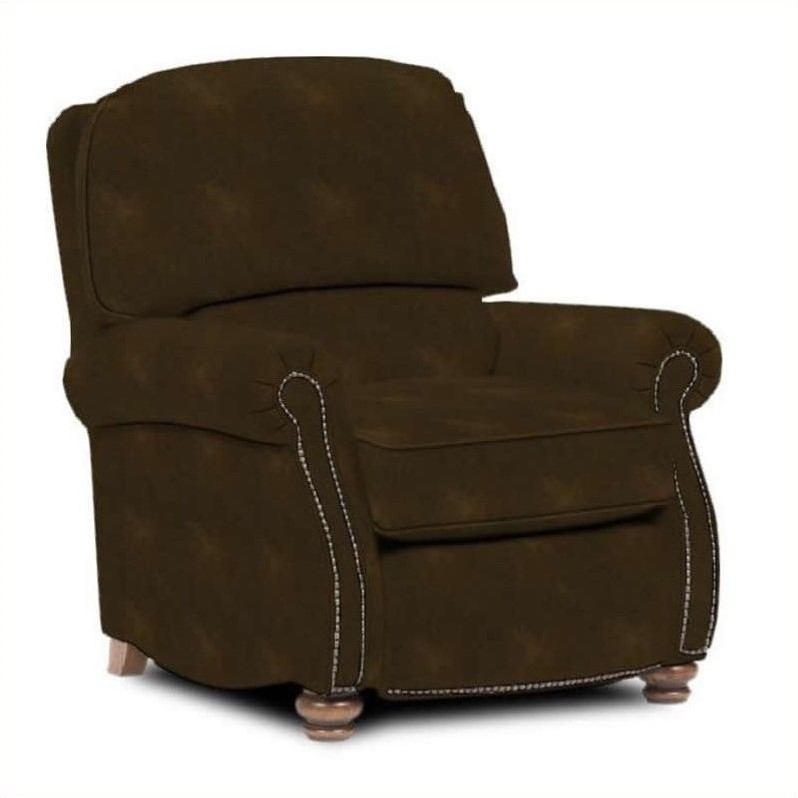 Broyhill Laramie Brown Recliner Chair with Attic Heirloom...
