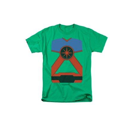 Justice League Of America DC Comics Martian Manhunter Costume Adult T-Shirt