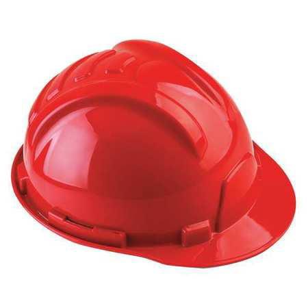 TASCO Hard Hat,6 pt. Ratchet,Red 100-42000