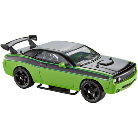 Fast & Furious Customizers Dodge Challenger + Vehicle Kit (Furious 7 Sound)