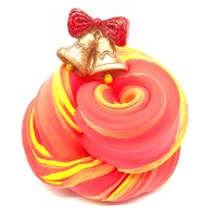 Christmas Bell Mud Slime Putty Scented Stress Clay Sludge Toy For Xmas Gift
