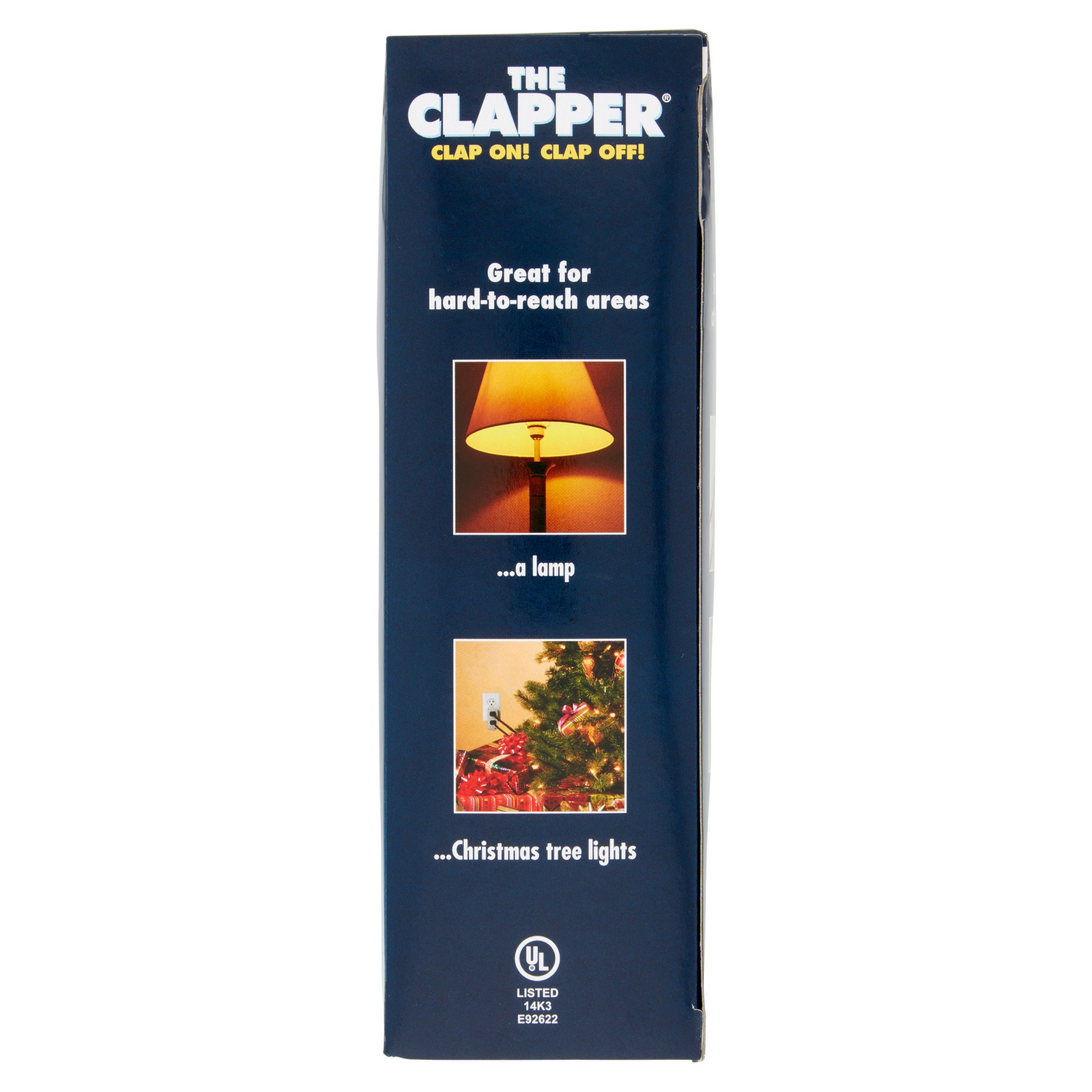 The Clapper Wireless Sound Activated On Off Switch Clap Detection Automatic Light