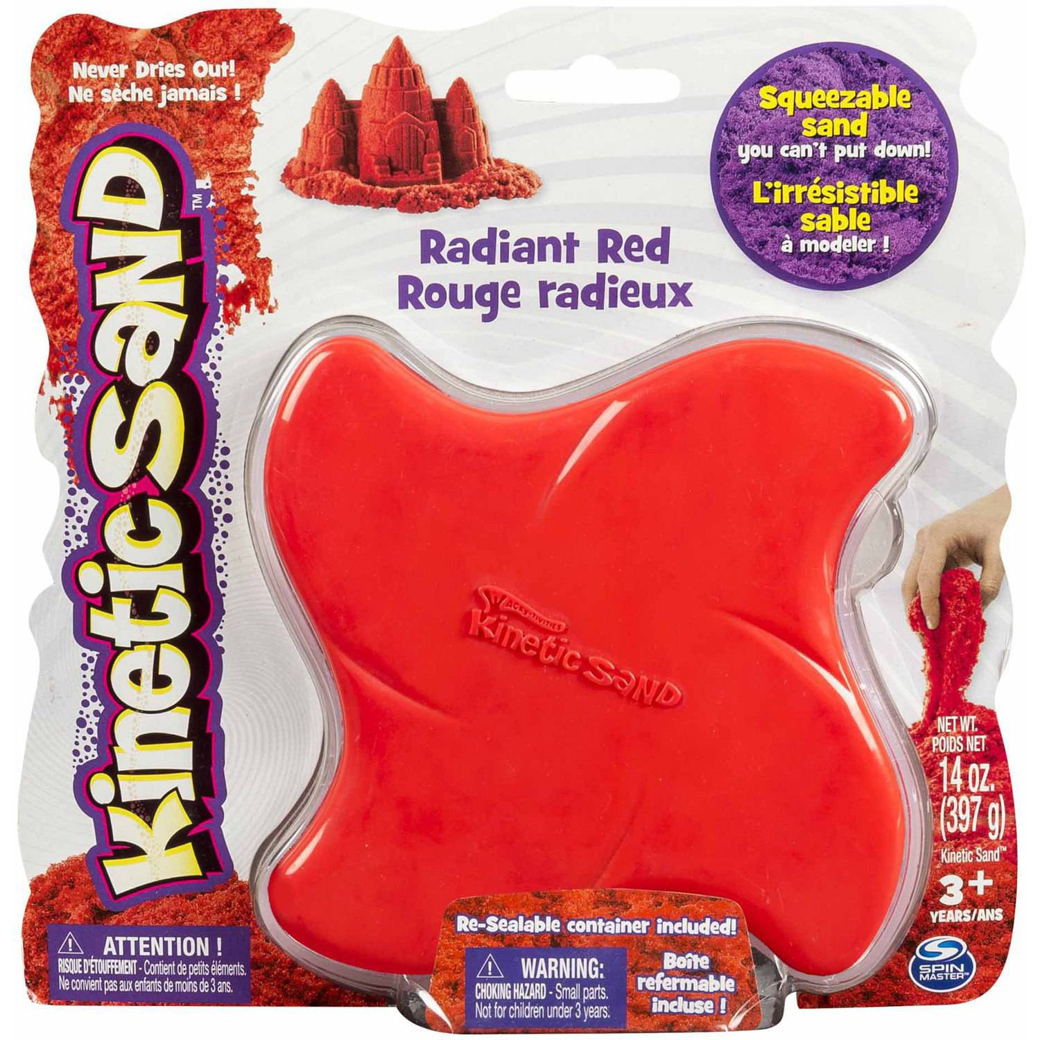 Kinetic Sand, 14 oz Radiant Red