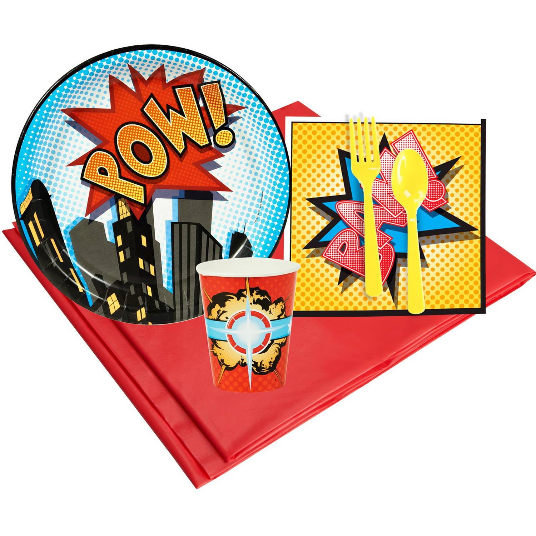 Superhero Comics 8 Party Pack