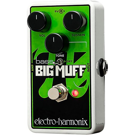 Electro-Harmonix Nano Bass Big Muff Pi Distortion/Sustainer Bass Effect