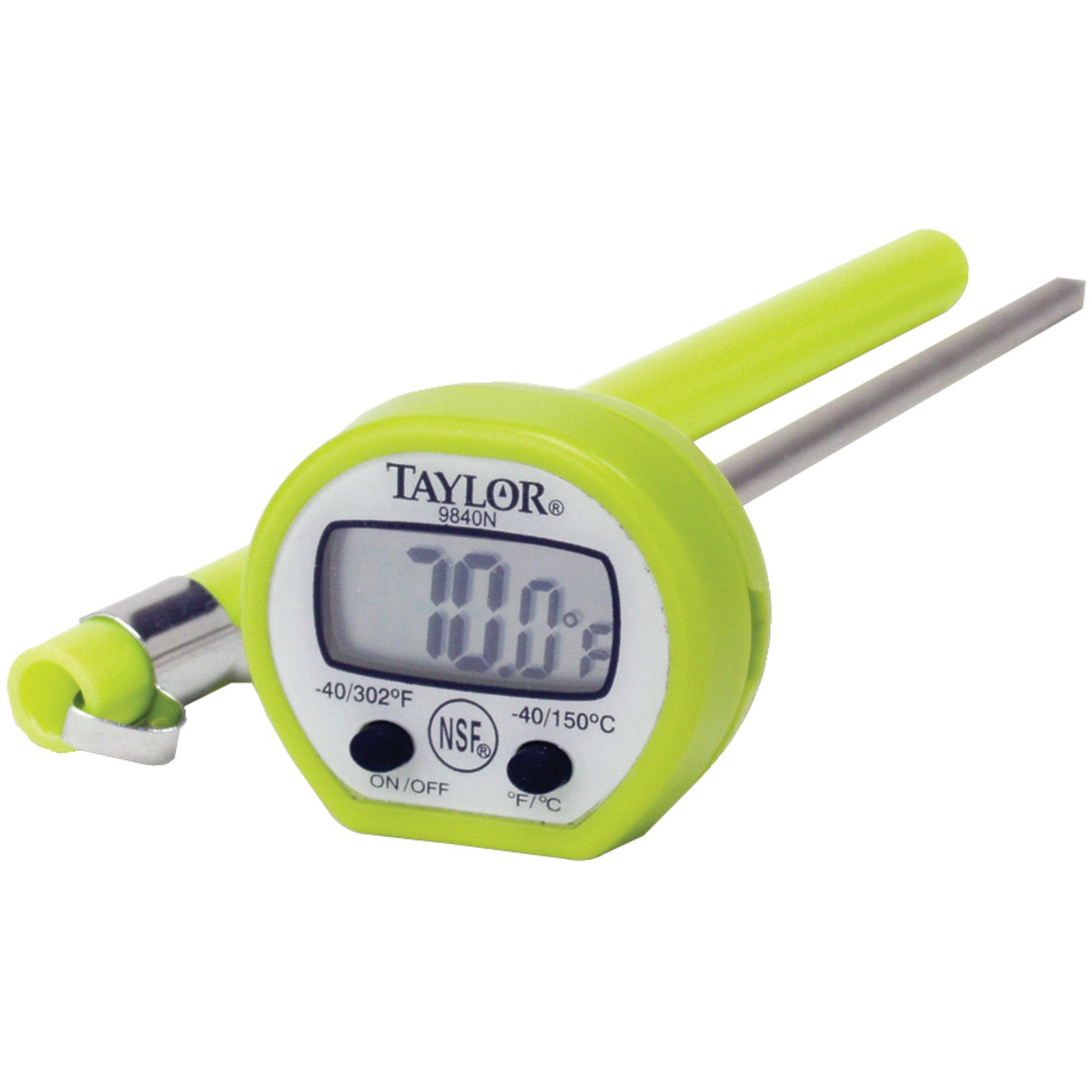 Taylor Classic Instant Read Pocket Thermometer (Set of 6)