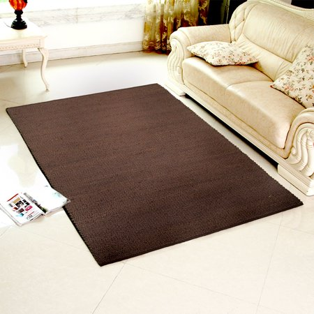 - LR Home Elite Espresso Indoor Area Rug (9' x 12')