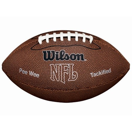 Wilson NFL MVP Official Pee Wee Size Youth Football](Foot Balls)