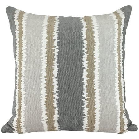 Better homes and gardens chenille stripe pillow - Better homes and gardens pillows ...
