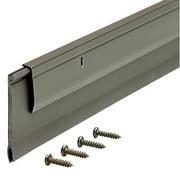 """M-D Products 05652 36"""" Bronze Heavy-Duty Aluminum and Vinyl Door Sweep"""
