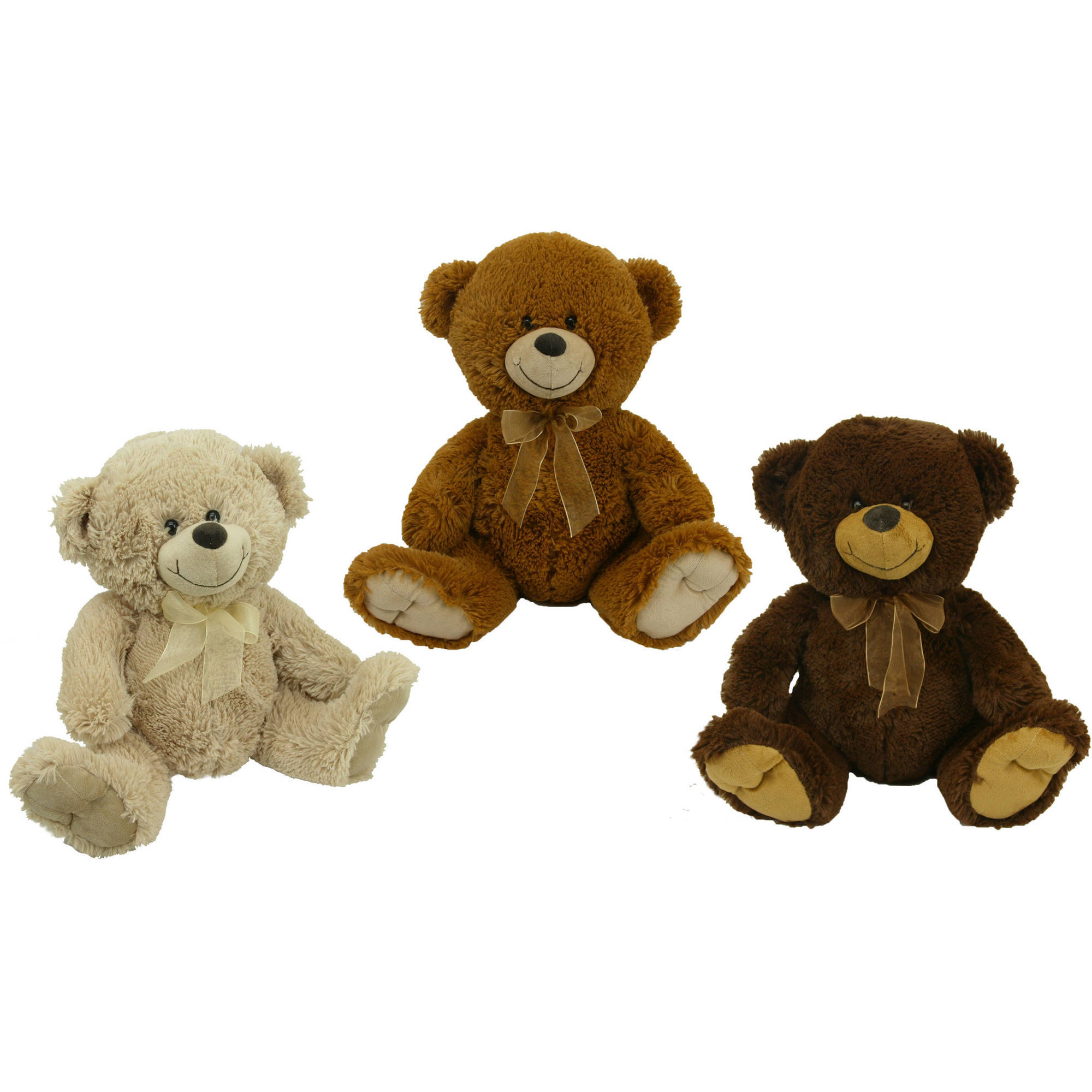"19"" Snuggly and Cuddly Teddy Bear, Assorted Colors"