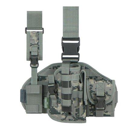 - RTGC605-ACU Tactical Leg Rig Holster ACU Digicamo