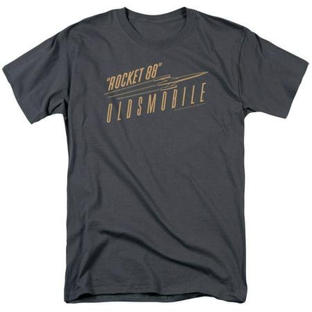 Oldsmobile Retro 88 Mens Short Sleeve Shirt (Oldsmobile Silhouette Short)