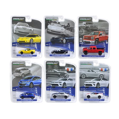 Assortment Collection Color - GREENLIGHT 1:64 GENERAL MOTORS COLLECTION - SERIES 2 ASSORTMENT 6PCS 27875