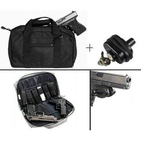 Ultimate Arms Gear Hi Point Hi-Point 9mm  22  357 Sig 38 Special  40 S&W   45 ACP GAP Discreet Dual Tactical 2 Pistol & 6 Magazine Hand Gun Handgun
