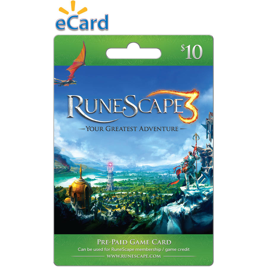 Jagex RuneScape - $10 card (Email Delivery)