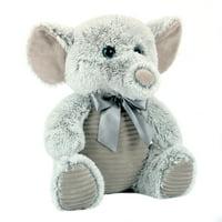 "Elephant Plush Stuffed Animal, 15"""