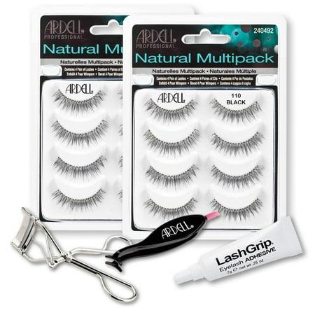 8076fbcca58 Ardell Fake Eyelashes 110 Value Pack - Natural Multipack 110 (Black, 2-Pack