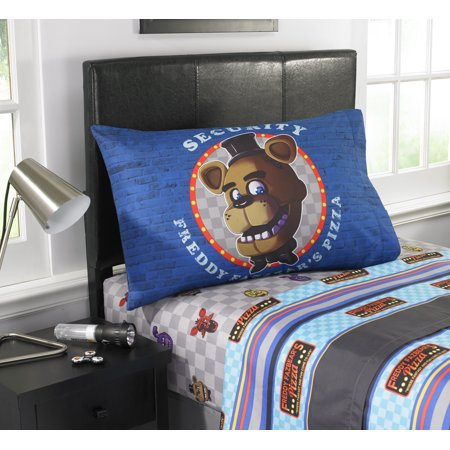 Five Nights At Freddy's Pizza Security Kids Sheet Set